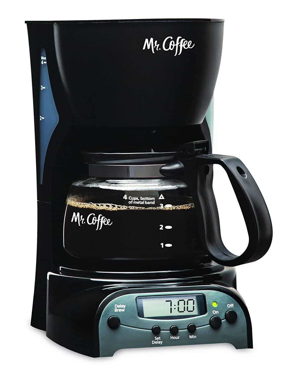 Mr Coffee 4-Cup Programmable Coffee Maker